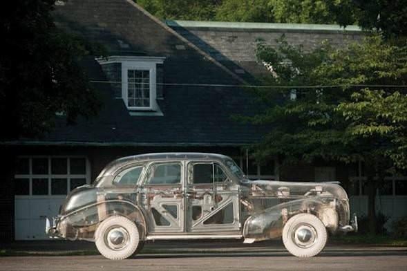 İşte en şeffaf otomobil