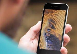 iPhone'nunuzu uydu görüntüleriyle süsleyebilirsiniz