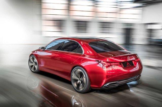 2017 Mercedes-Benz A Sedan Concept tanıtıldı