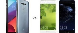 Huawei P10 ile LG G6 karşı karşıya!