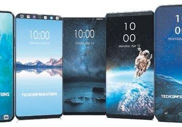 Telefonların tasarımı birbirine çok benziyor