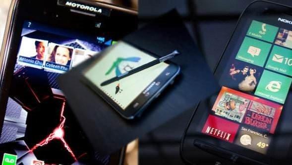 2012'nin en başarılı telefonları