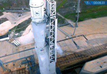 SpaceX'in fırlatılışını kaçıranlar videosunu izleyebilir