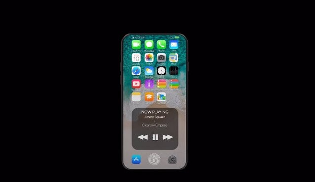 Bükülebilir esnek iPhone 8 modeli