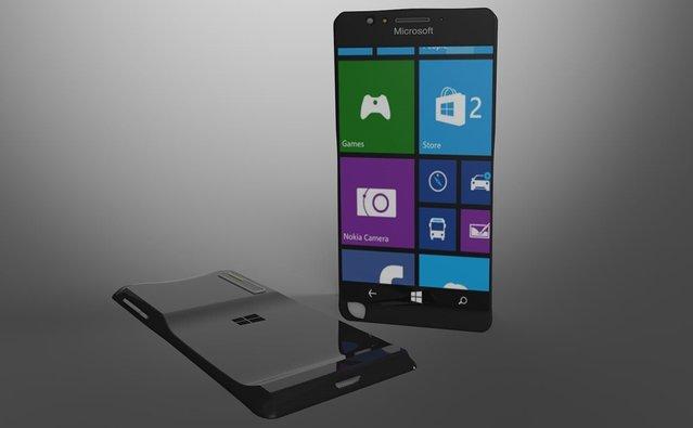 Ergonomiye odaklı Lumia Black modeli