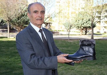 72 yaşındaki Konyalı 'mucit' ısıtıcılı bot geliştirdi