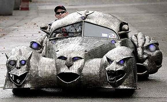 En çılgın otomobil tasarımları