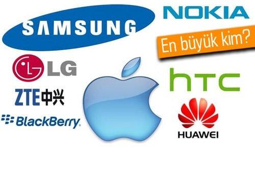 Samsung Apple'ı kağıt üzerinde solladı