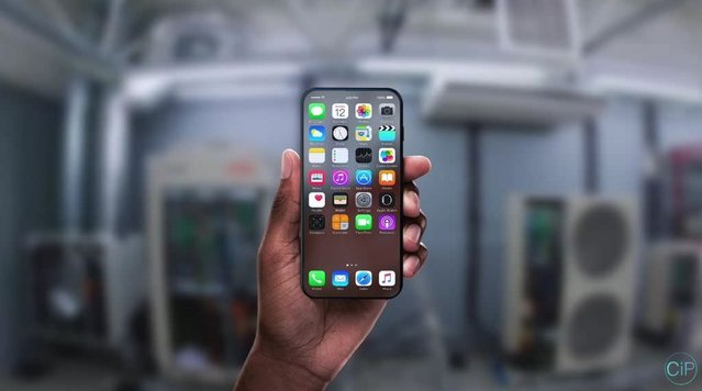 Şeffaf iPhone 8 konsepti