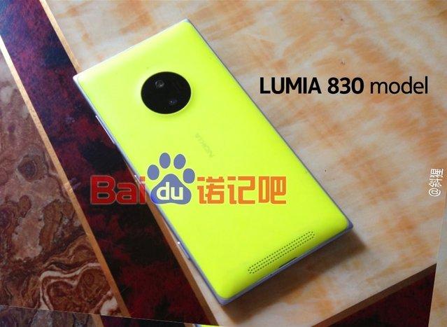 PureView'a sahip Nokia Lumia 830 IFA'da tanıtılabilir