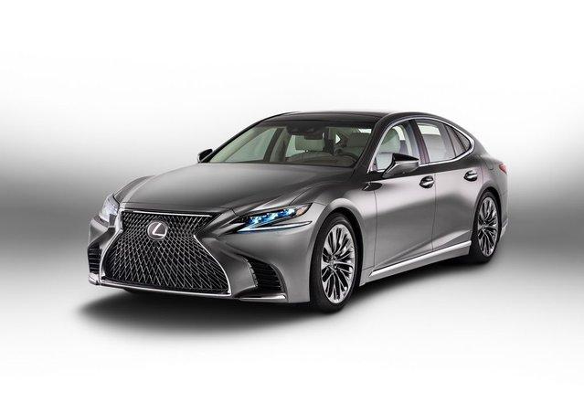 2018 Lexus LS tanıtıldı