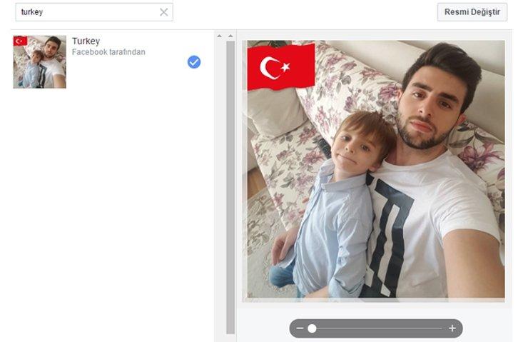 FACEBOOK'TA ULUSAL BAYRAK DÖNEMİ!