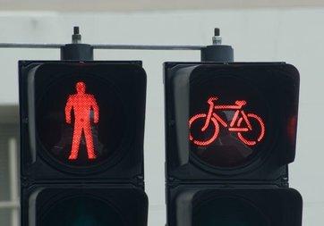 Sevgililer Günü'ne özel trafik ışığı!
