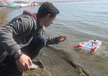 Vanlı öğrencinin icadı denizleri temizleyecek