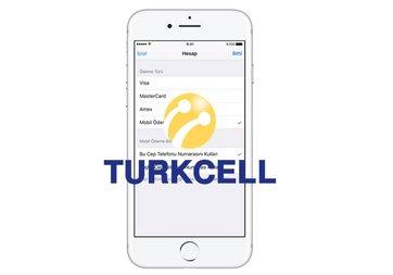 App Store, Apple Music ve iTunes ödemeleri Turkcell faturası üzerinden yapılabilecek