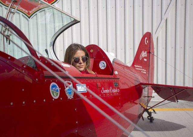 Semin Öztürk, Türkiye'nin ilk kadın sivil helikopter pilotu oldu