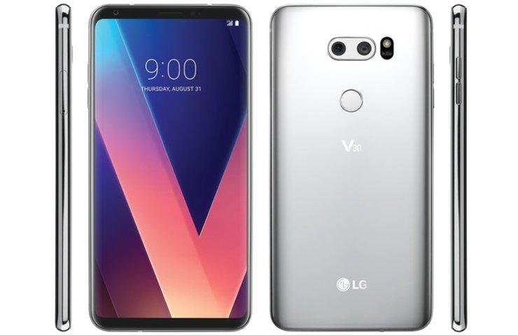LG V30'UN CANLI FOTOĞRAFI SIZDI!