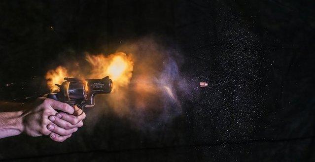 Silahlar ateşlendikten milisaniyeler sonra nasıl gözüküyor?