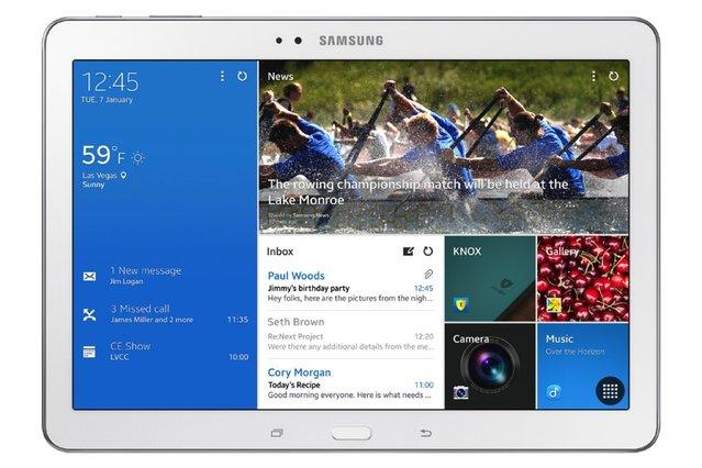 CES 2014: Samsung'dan 10.1 inçlik tablet TabPRO 10.1