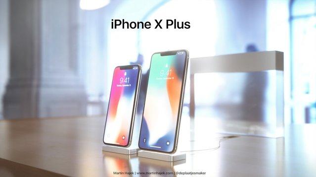 iPhone X Plus böyle olabilir