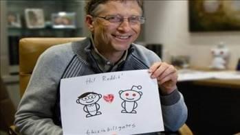 Bill Gates: Yerde 100 dolar görsem alırım