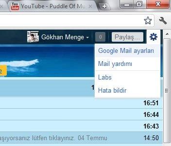 Yeni Gmail görünümüne nasıl geçilir?