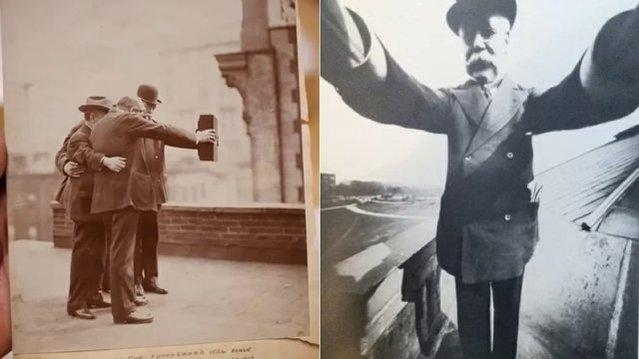 İşte 1909 yılında çekilmiş dünyanın ilk Selfie'si
