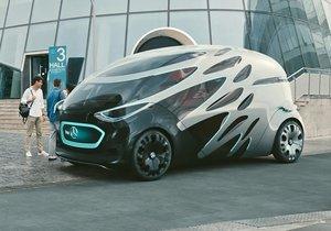 Gelecekten gelen konsept otomobil: Mercedes-Benz 'vision URBANETIC'