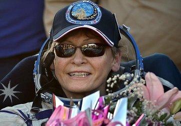 Kadın astronot 288 gün uzayda kaldı, rekor kırdı