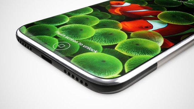 Orijinal iPhone'u hatırlatan iPhone 8 konsepti