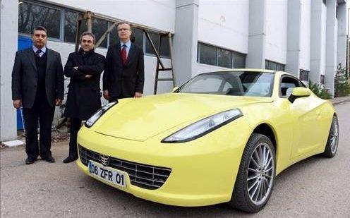 Türkiye'nin ilk elektrikli spor otomobili