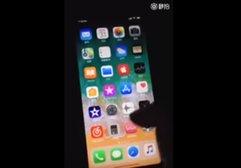 Çalışır durumdaki iPhone 8'in ilk videosu sızdı!