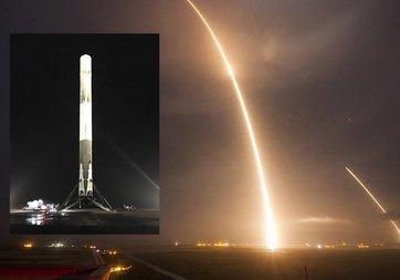 SpaceX, Falcon 9'u son 12 günde 3. kez fırlattı