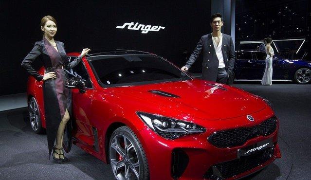 2017 Seul Motor Show'dan görüntüler