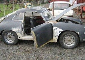 1955 model hurda Porsche'un müthiş değişimi