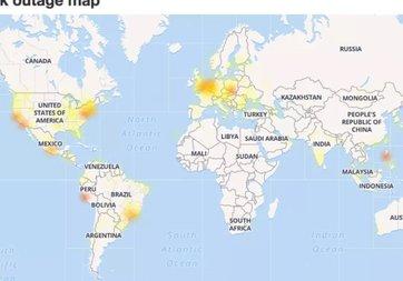 Facebook ve Instagram Avrupa'da çöktü!