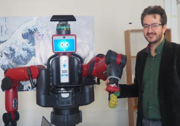 Boğaziçi Üniversitesi'nde düşünebilen robot yaptılar