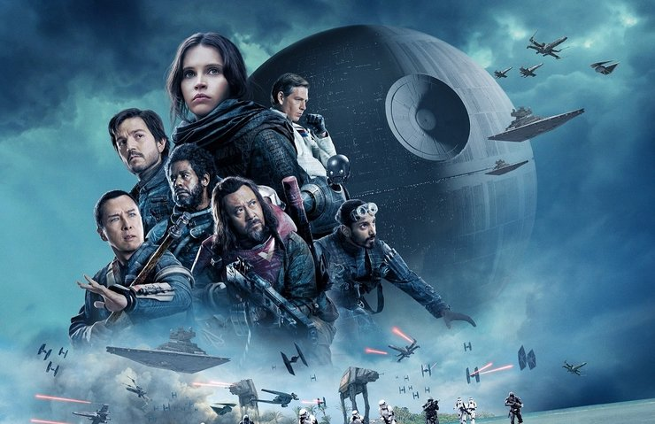 ROGUE ONE, THE FORCE AWAKENS'İN ALTINDA KALDI