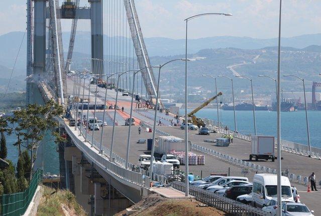 Osmangazi Köprüsü'nün detaylı özellikleri
