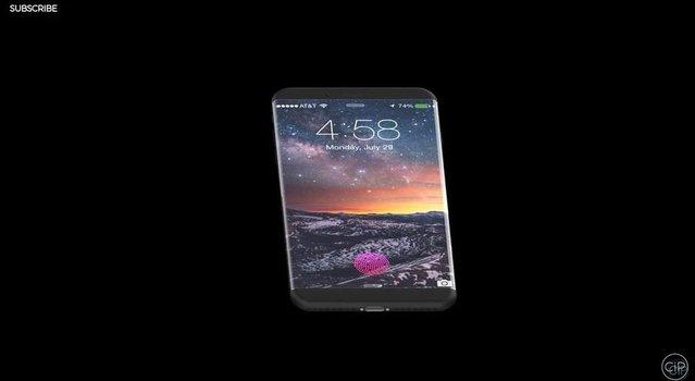 Dokunmatik Home tuşlu iPhone 8 nasıl görünüyor?