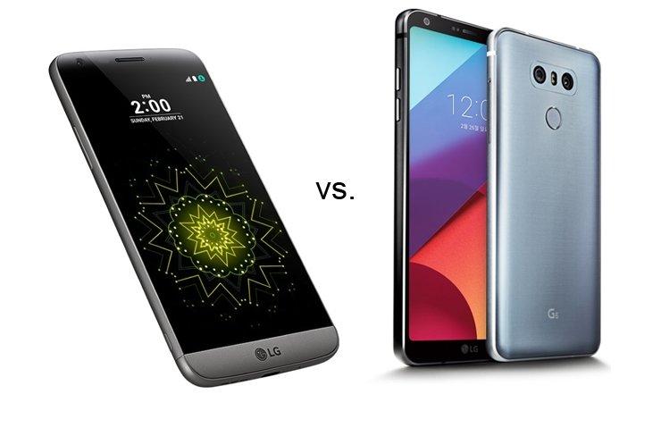 LG G6 İLE LG G5 KARŞI KARŞIYA!
