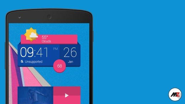 2015'in en iyi Android widget'ları