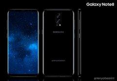 Samsung Galaxy Note 8'in gerçekçi konsepti