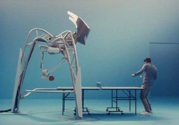 Masa tenisi robotu Guinness Rekorlar Kitabı'na girdi