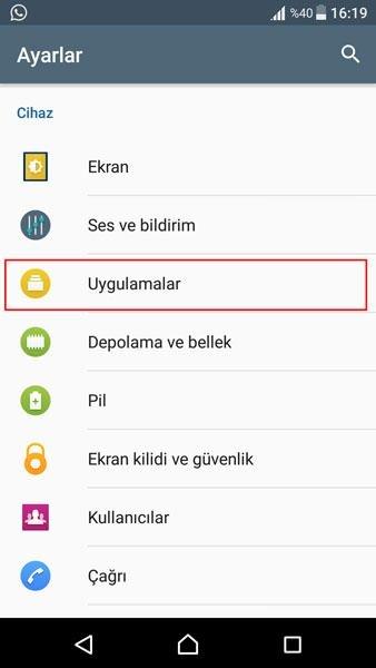Android cihazlarda uygulama izinleri nasıl kapatılır ve açılır?