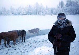Hava sıcaklığı -71 derece olan köy
