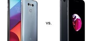 LG G6 ile iPhone 7 karşılaştırması
