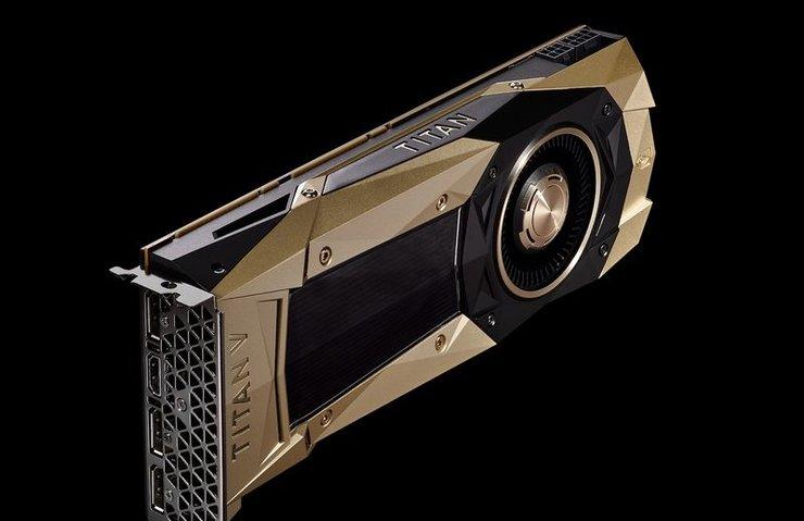 NVİDİA'DAN ŞİMDİYE KADARKİ EN GÜÇLÜ PC GPU'SU: TİTAN V