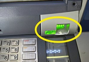Bankamatikten bilgileri bu şekilde çalıyorlar
