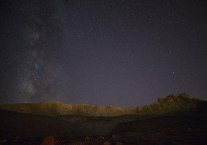 Erciyes Dağı'nda harika görsel şölen!